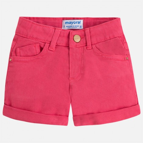 Short sarga basico color Petunia