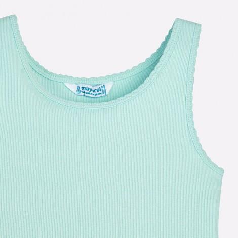 Camiseta tirantes basica color Agua
