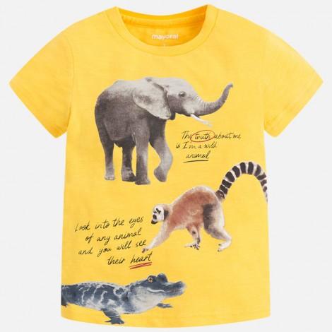 Camiseta m/c animals color Polen