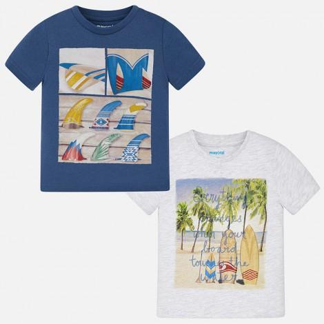 Set 2 camisetas m/c lisas color Skyway