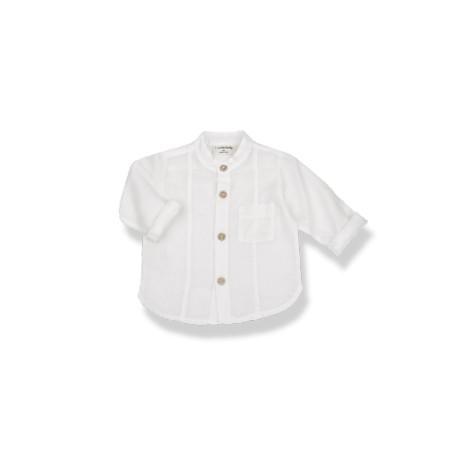 Camisa mao bebé MAURO en CRUDO