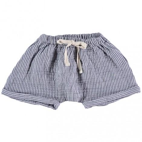 Pantalón corto bebé KIKE MARINE en STRIPES