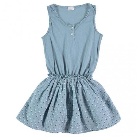 Vestido niña IRIS  en AQUA