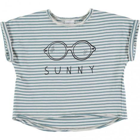 Camiseta niña M/C NATALIE sunny en AQUA