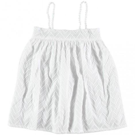 Vestido niña UMA con bordados en WHITE
