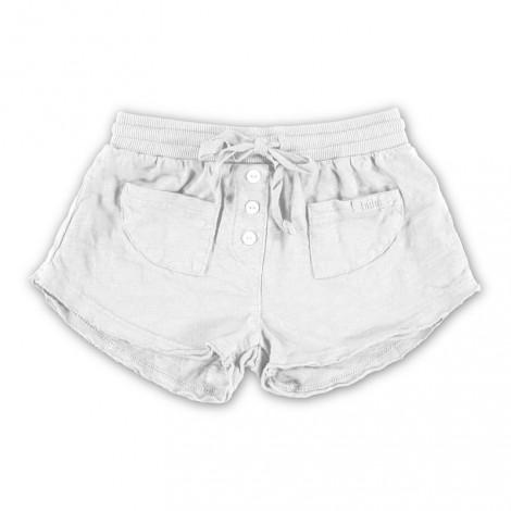 Pantalón niña short SURI en WHITE