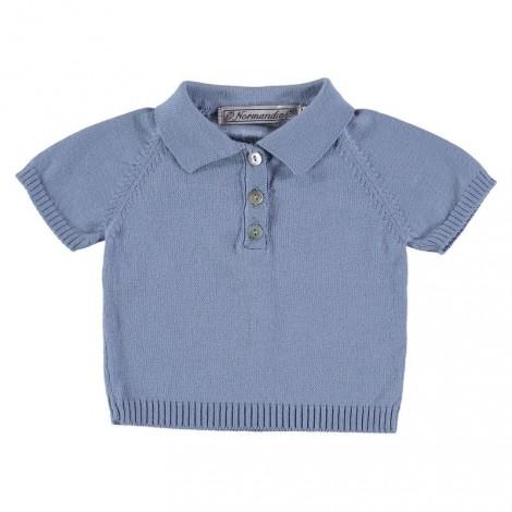 POLO BAXER de bebé Azul