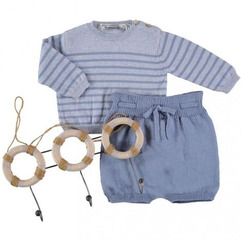 JERSEY OTAGO de bebé Azul Claro
