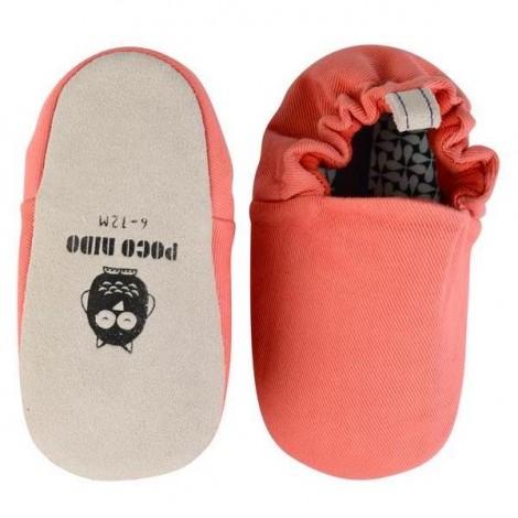 Zapatitos bebé RHUBARB RED Poco Nido mini shoes