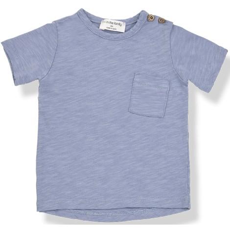 Camiseta bebé JUDD M/C bolsillo  en MAR