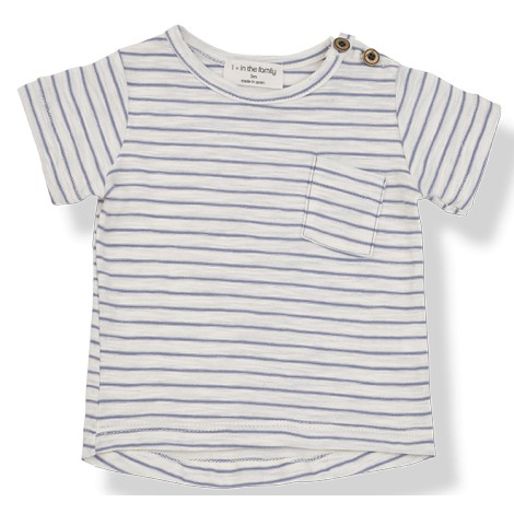 Camiseta bebé rayas MAGRITTE M/C en MAR