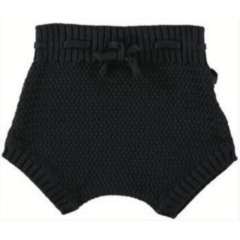 Ranita tricot de bebé BLACK