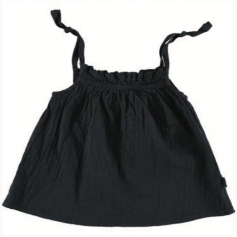 Camisa Top Santorini de bebé BLACK