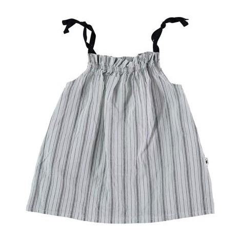 Vestido Mikonos tirantes de bebé STONE