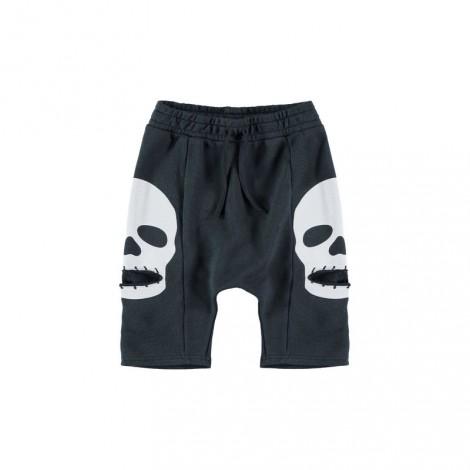 Pantalón short infantil SKULL POCKET Asphalt