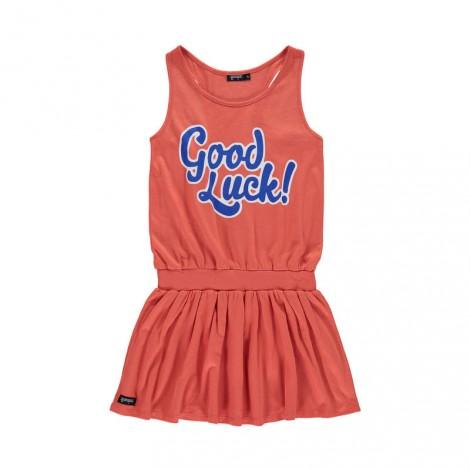 Vestido tirantes niña GOOD LUCK Paprika
