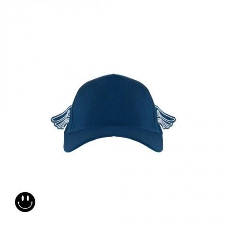 Gorra infantil WINGS azul con alas
