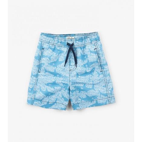 Bañador niño bóxer SHARK ALLEY bolsillos