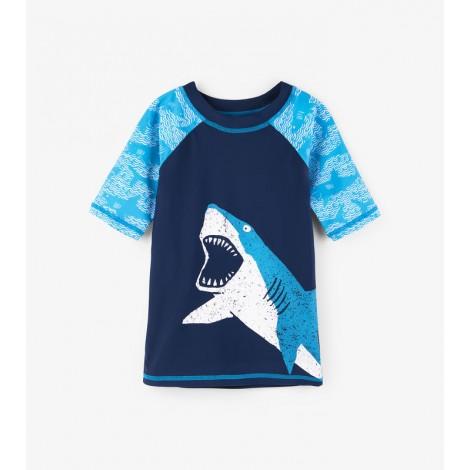 Camiseta de agua niño LYCRA M/C SHARK ALLEY
