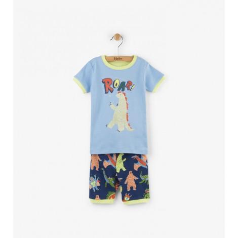 Pijama niño 2 piezas M/C MONSTER algodón orgánico