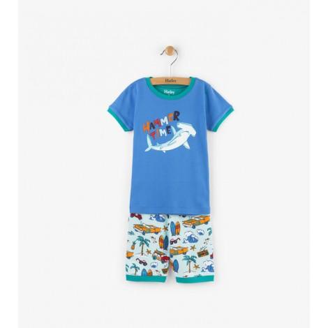 Pijama niño 2 piezas M/C SURF algodón orgánico