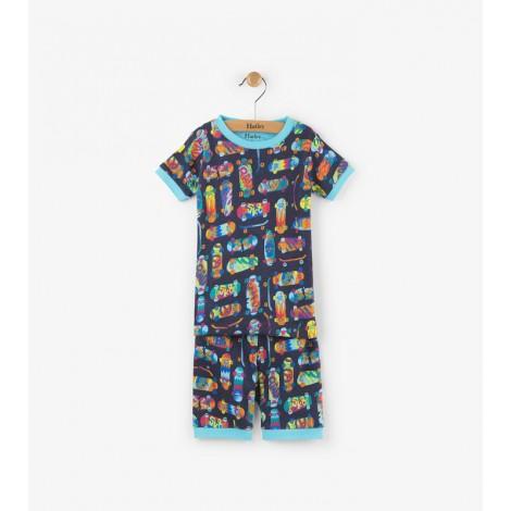 Pijama niño 2 piezas M/C SKATE algodón orgánico