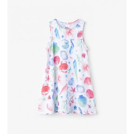 Vestido niña playero sin mangas OCEAN TREASURES
