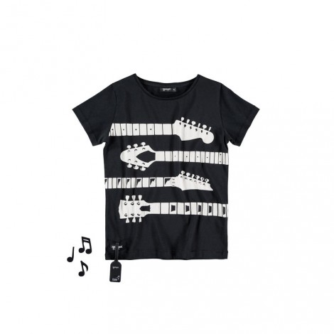 Camiseta infantil sonido M/C GUITARS TEE