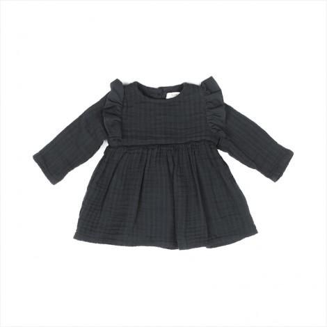 Vestido THYRA bebé en CARBON