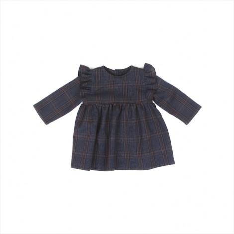 Vestido THYRA bebé en CHECKBLUE