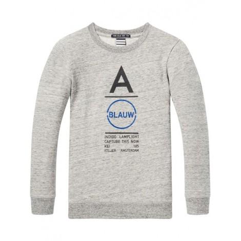 Camiseta niño gris vigoré manga larga BLAUW