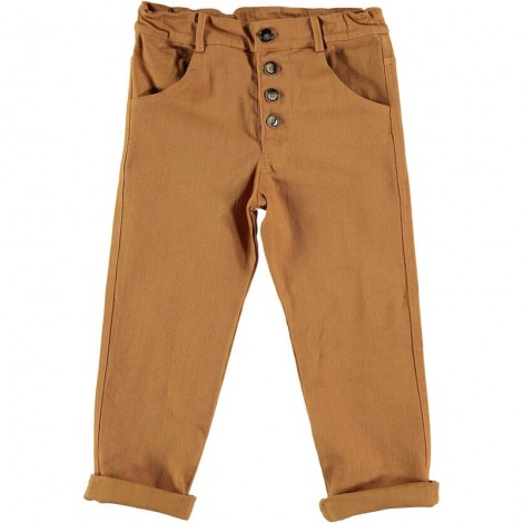 Pantalón infantil ALEX botones en BISCUIT