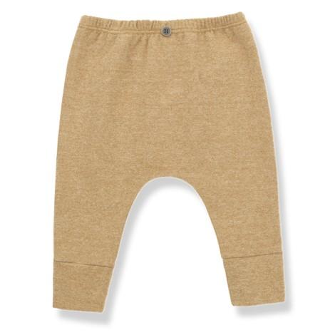 Pantalón bebé ALEIX leggings en OCRE