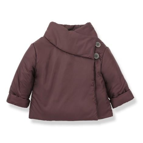 Chaqueta bebé abrigo KATA girl en PRUNA