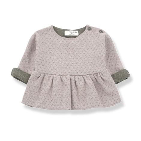 Camiseta blusa bebé MURIEL en ROSA c6effd7f8fe