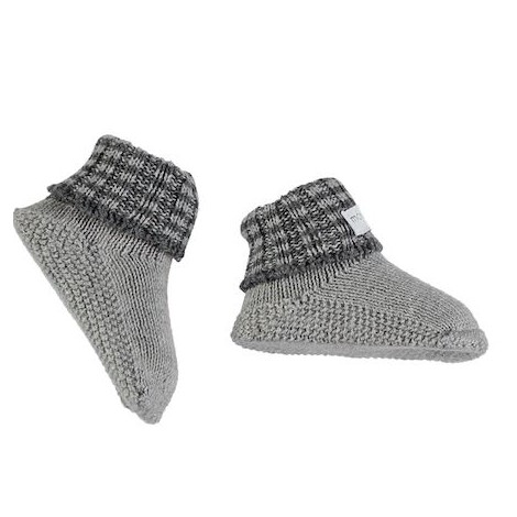 Patuco calcetín bebé PEUCOS en GREY