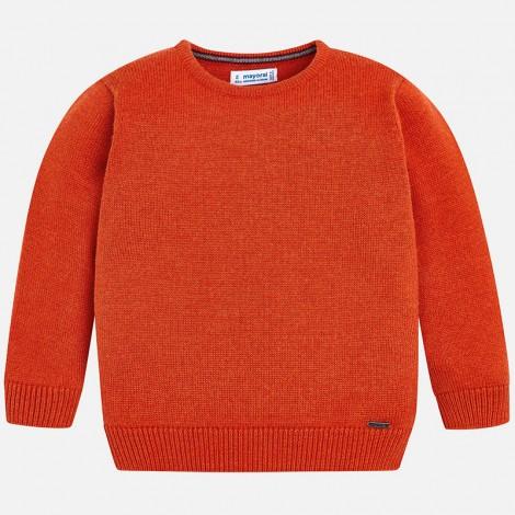 Jersey para niño de cuello redondo color Bengala