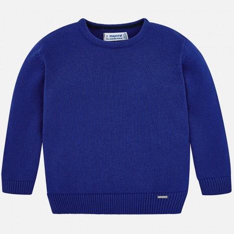 Jersey para niño de cuello redondo color Meteorito
