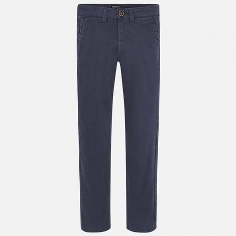 Pantalón para niño chino en sarga color Iman