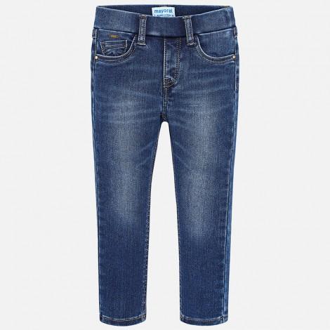 Pantalón tejano niña Super Slim color Basico