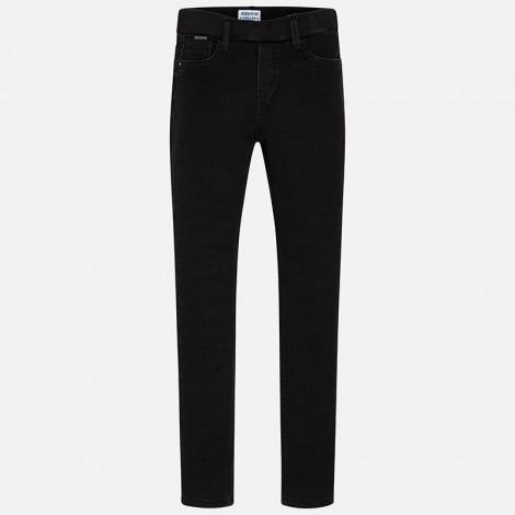 Pantalón tejano niña Super Slim color Negro