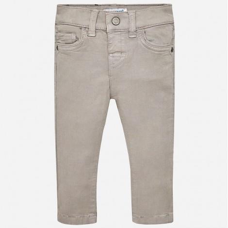 Pantalón para bebé Super Slim tintado color Piedra