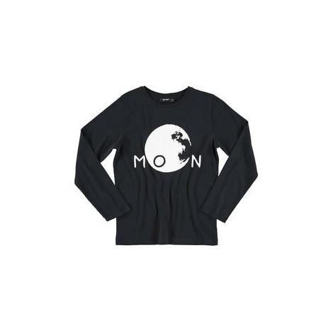 Camiseta infantil fluorescente MOON M/L BLACK