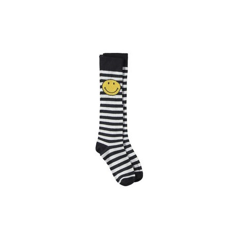 Calcetín infantil a rayas SMILEY SOCKS