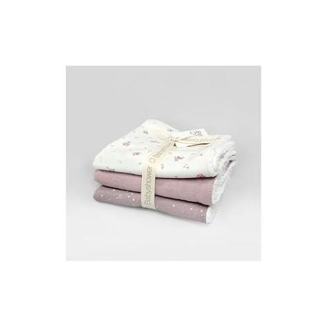 Pack toallitas bebé MALVA BLOOM