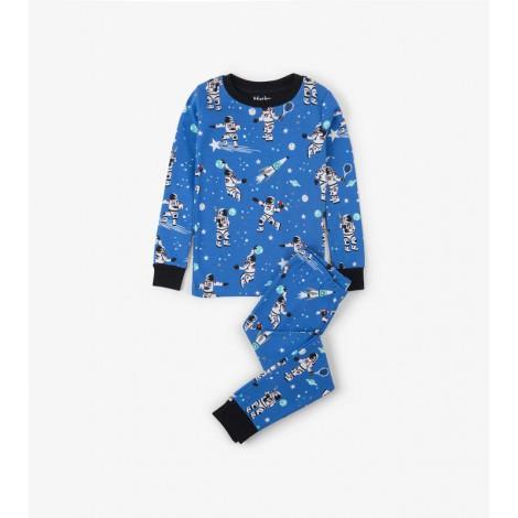 Pijama niño ASTRONAUTS fluorescente orgánico