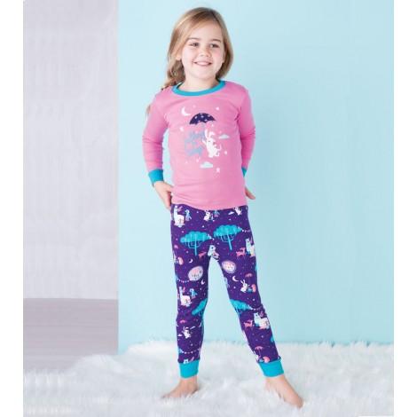 Pijama niña FALLING TO SLEEP algodón orgánico