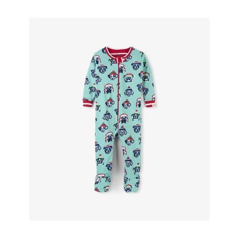 Pijama bebé entero COZY PUPS algodón orgánico