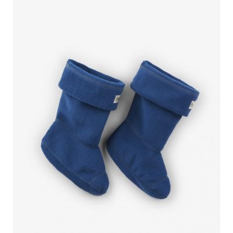 Calcetín infantil forro polar AZUL para botas agua