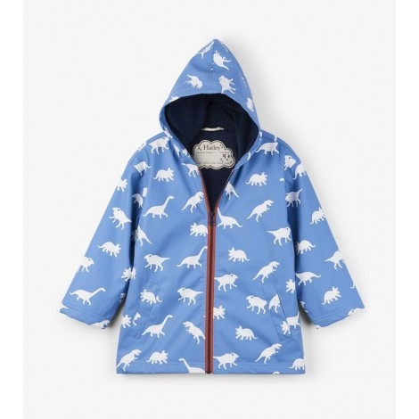 Parka impermeable unisex DINOSAURIO que cambia color